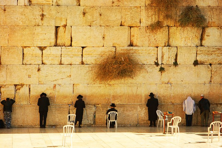 Wailing Wall and Jewish Quarter