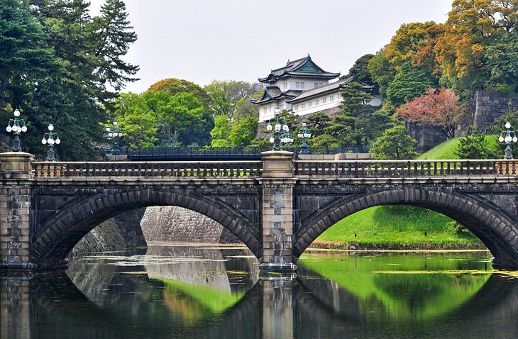 Imperial Palace and Nijubashi Bridge