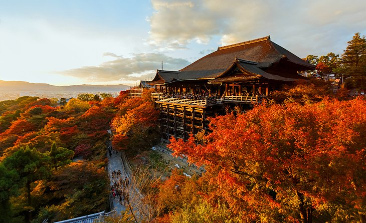 Image result for Kiyomizu-dera Temple, Kyoto, Japan during fall