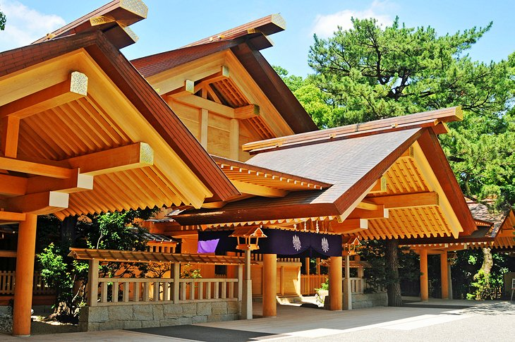 The Atsuta Shrine