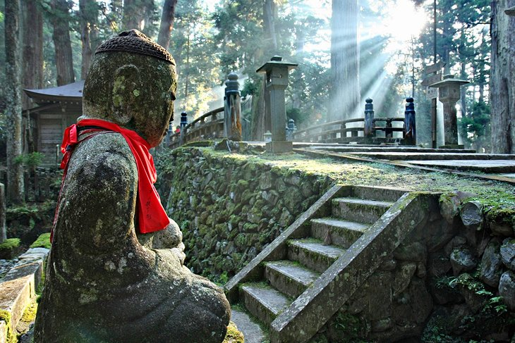 Okunoin Buddhist Cemetery at Mount Koya