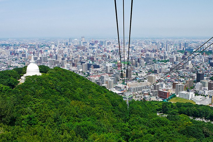 Mount Moiwa and the Aerial Ropeway