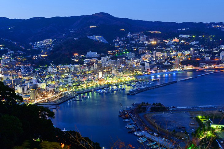 The Seaside Town of Atami