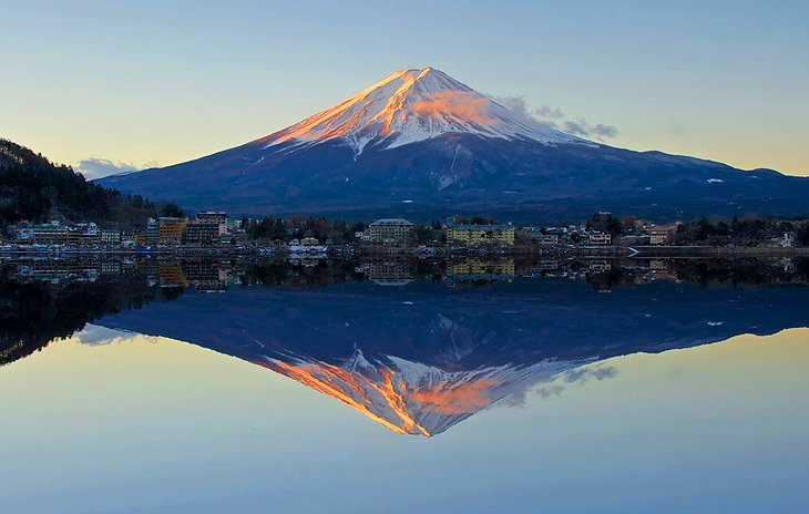Majestic Mount Fuji
