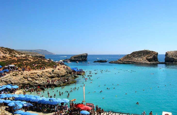 Blue Lagoon, Island of Comino: Nature's Perfect Swimming Pool