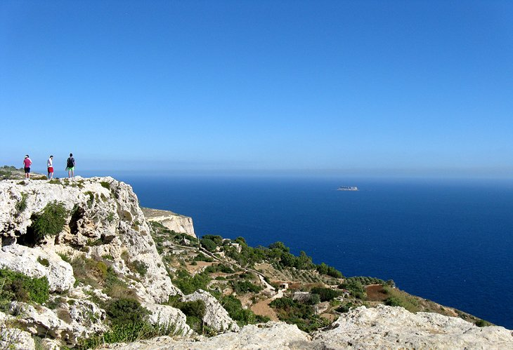 Breathtaking Views at Dingli Cliffs, Island of Malta