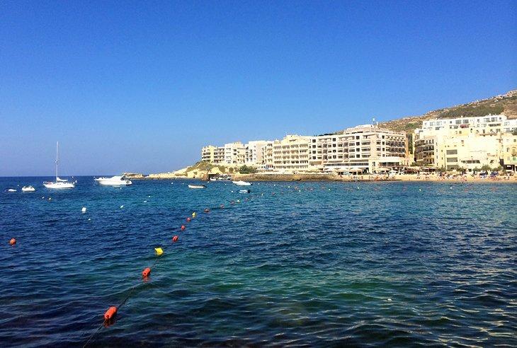 The Seaside Resort of Marsalforn