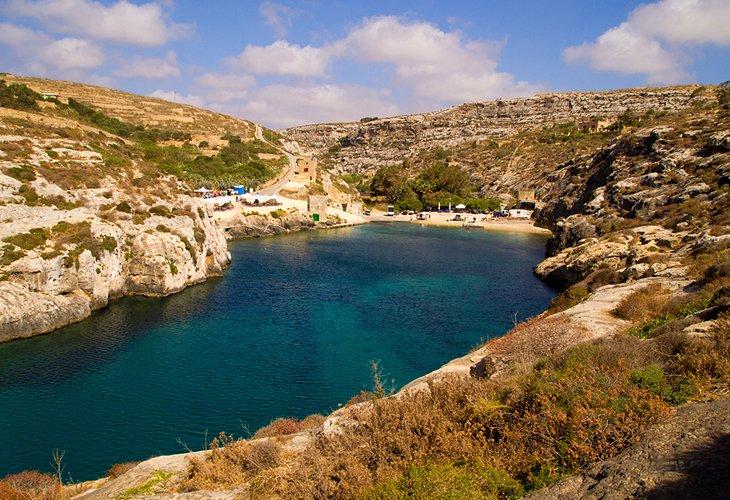 Mgarr ix-Xini: A Secluded Beach and Snorkeling Site