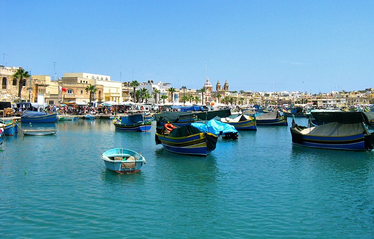 The Fishing Village of Marsaxlokk
