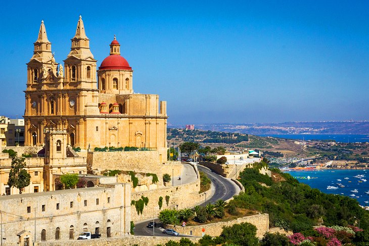 The Seaside Charm of Mellieha, Island of Malta
