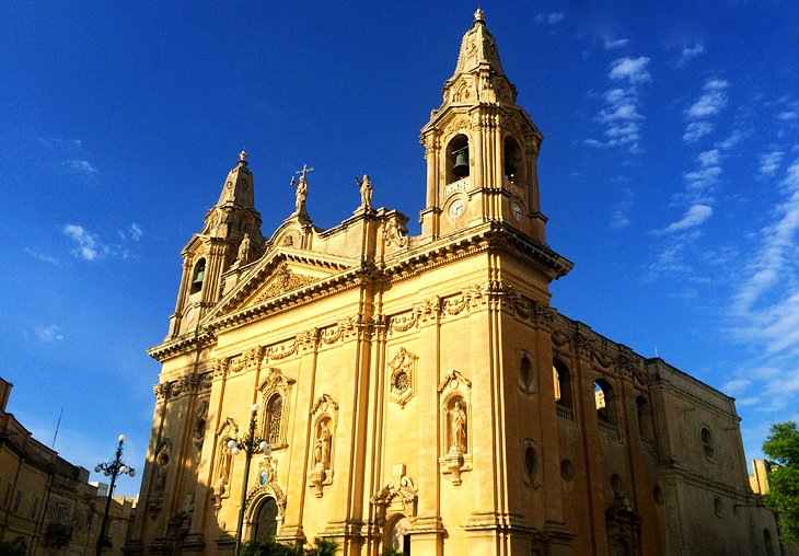 Beautiful Baroque Buildings in Naxxar