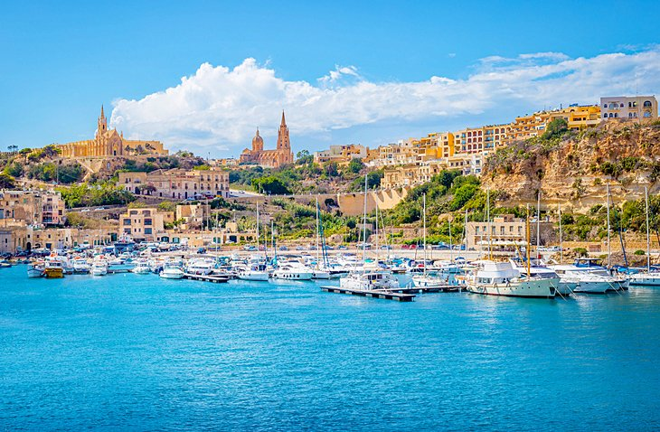 Island of Gozo: Seaside Scenery and Prehistoric Temples