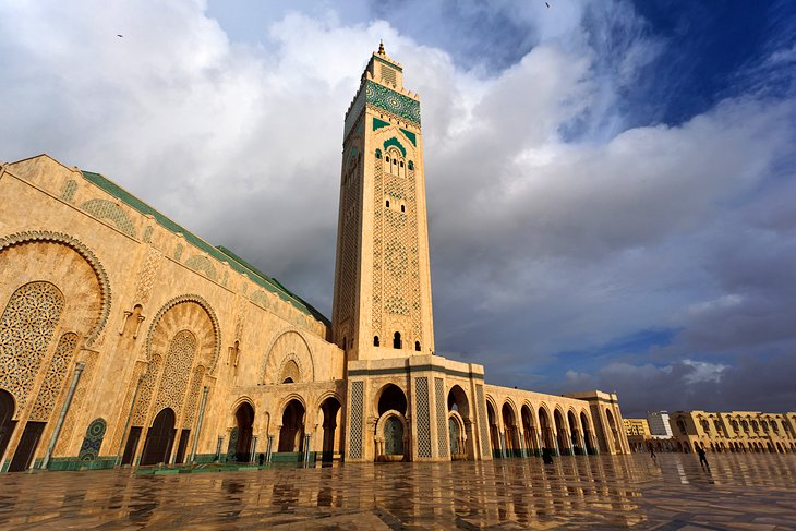 بازدید از مسجد حسن ثانی