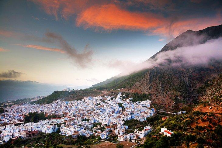 شهر قدیمی شفشاون مراکش