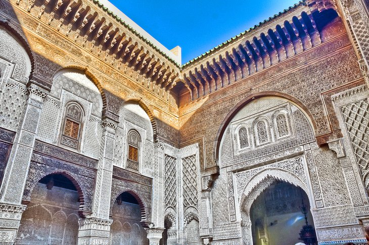 14 TopRated Tourist Attractions in Fes – Morocco Tourist Attractions Map