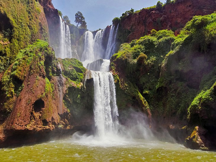 Водопады Узуд