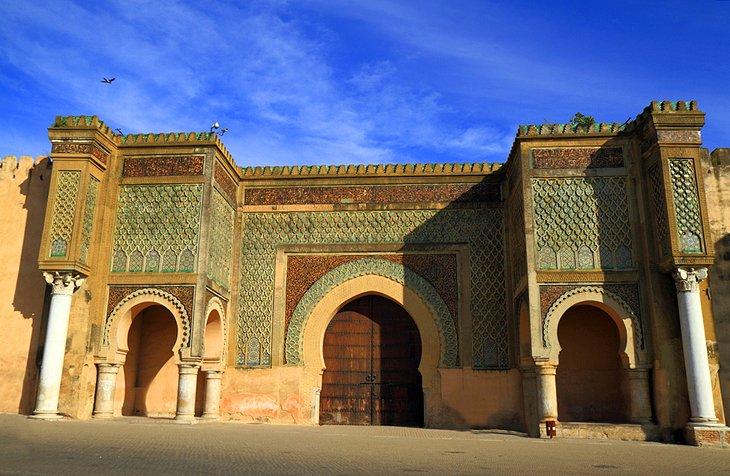 دروازه باب المنصور مراکش