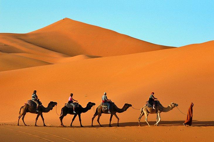 تپه های شنی ارگ چبی مراکش