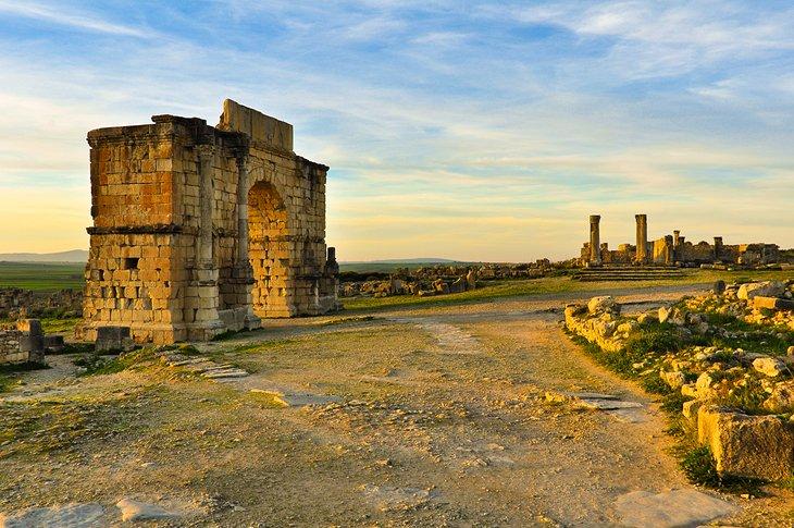 خرابه های باستانی ولیلی مراکش