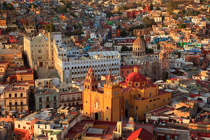 The Basilica of Our Lady of Guanajuato