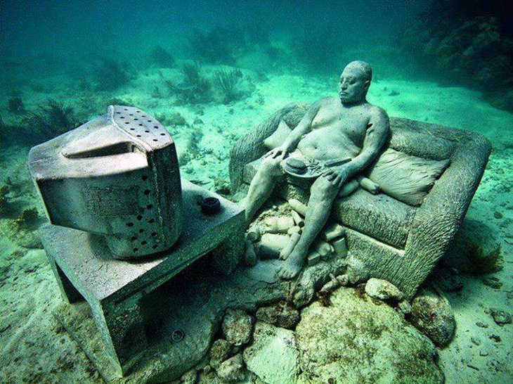 The Cancun Underwater Museum