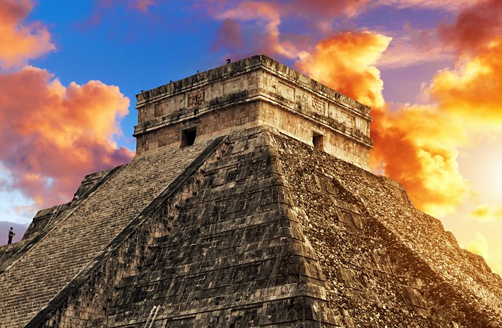 Visiting Chichen Itza From Cancun Highlights Tips Tours - Chichen itza map