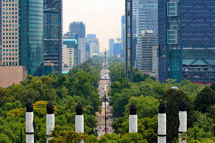 View from Chapultepec Castle