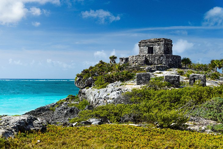 The Ancient Fortress of Tulum