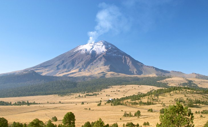 The Mexican Highlands: Popocatépetl