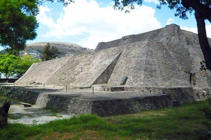 The Aztec Pyramid of Tenayuca