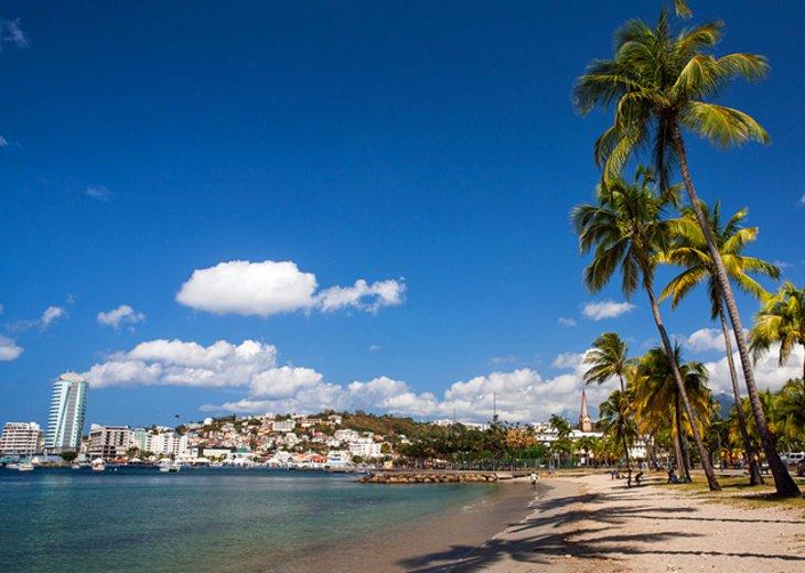 14 top rated tourist attractions in martinique planetware - Le port de fort de france ...