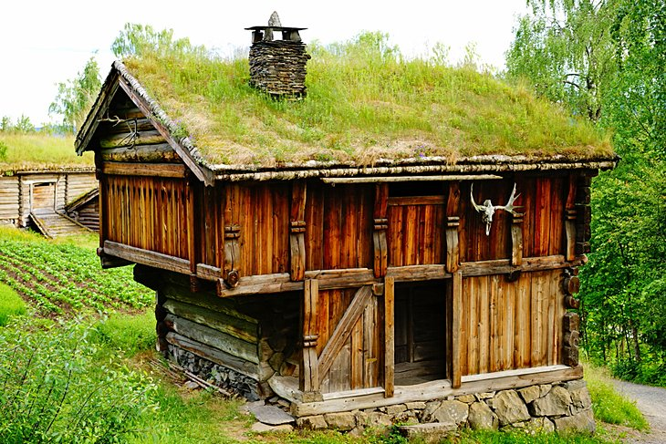 Historic viking home in Lillehammer