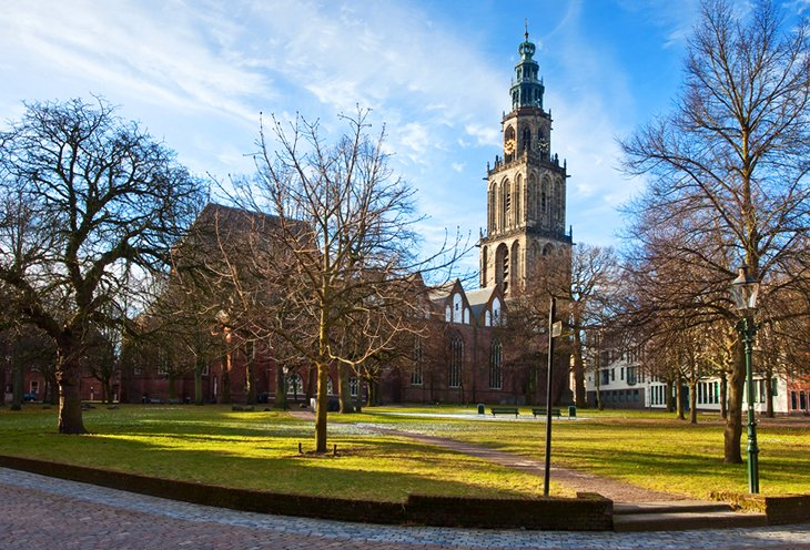 Martinikerk and the Martini Tower
