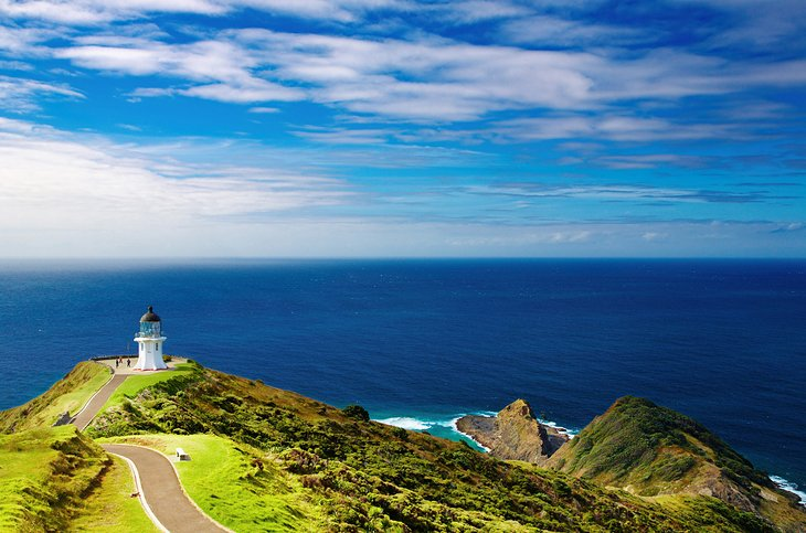 Cape Reinga at the Northern Tip of New Zealand