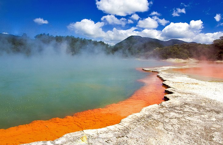 TopRated Tourist Attractions In New Zealand PlanetWare - 10 geological hotspots to visit in new zealand