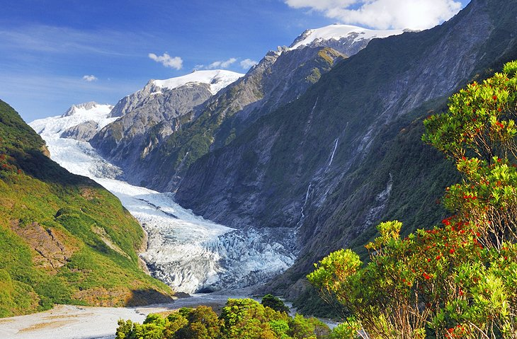 Fox and Franz Josef Glaciers, South Island