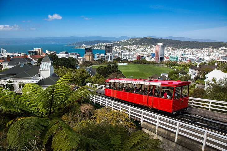 Wellington Cable Car and the Kelbrun Lookout