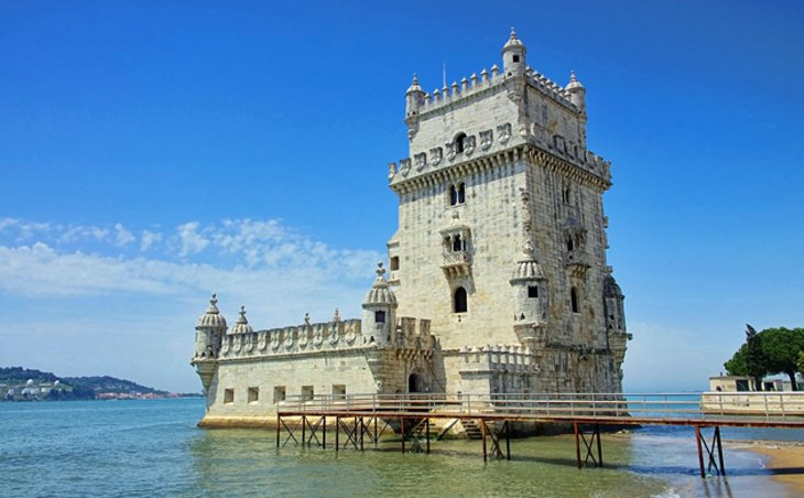 Image result for belém tower in lisbon