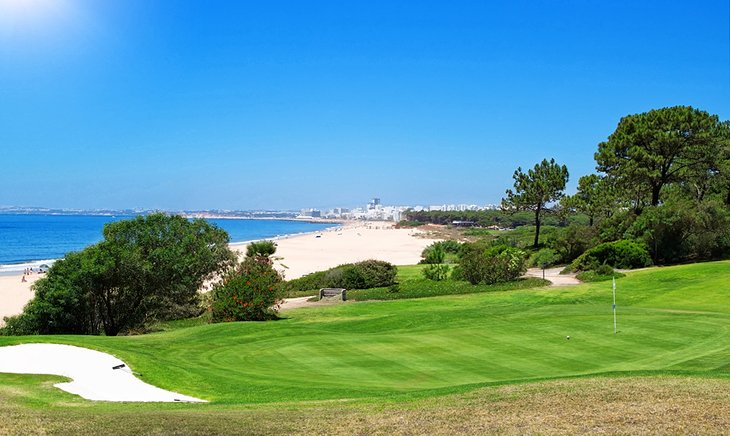 A Beachfront Golf Course in Portugal