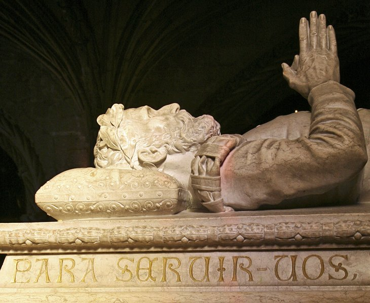 Tombs of Vasco da Gama and Luís de Camões