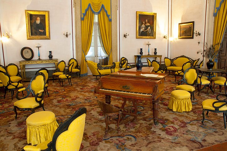 Music Room or Yellow Room