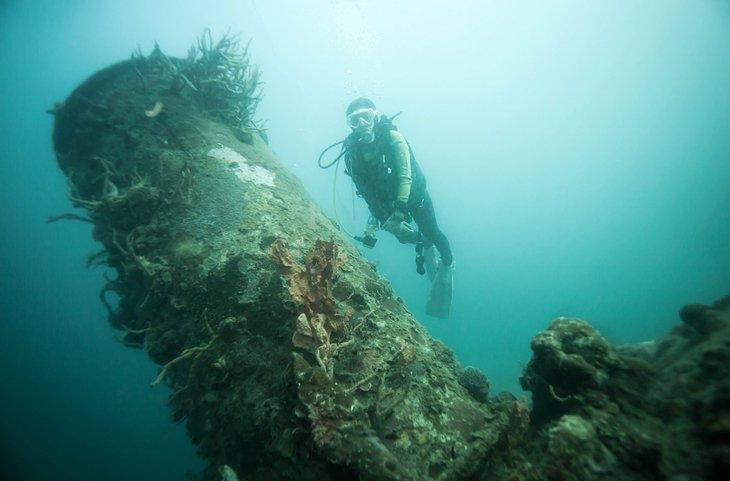 غواصی در کرون فیلیپین