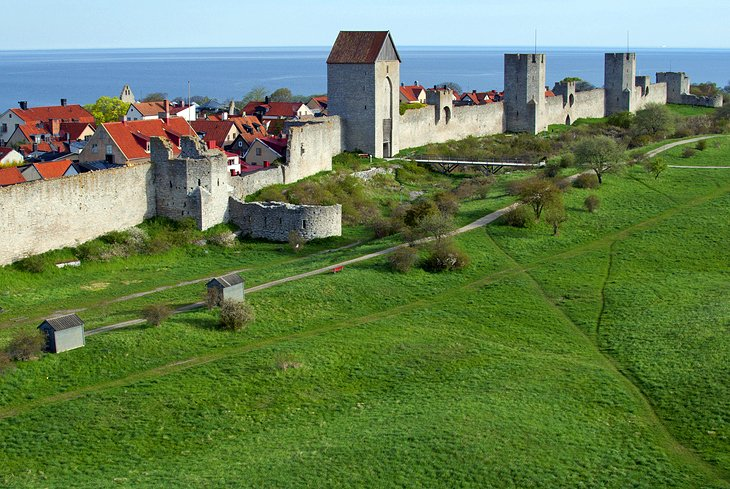 Visby's Town Walls