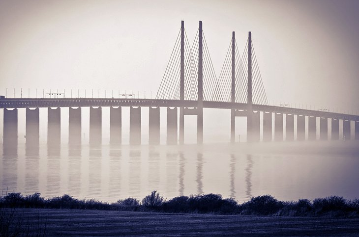 Oresund Bridge, Malmo