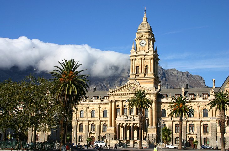 City Hall & the Castle of Good Hope