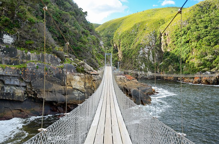 The Storms River Suspension Bridge
