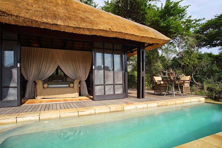 10 top rated luxury safari lodges in south africa, 2018 planetwarephoto copyright \u0026beyond phinda vlei lodge