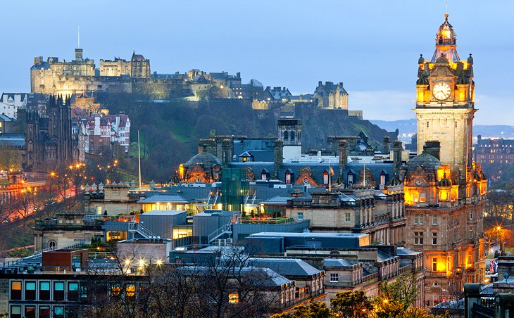 15 TopRated Tourist Attractions In Edinburgh – Edinburgh Tourist Map