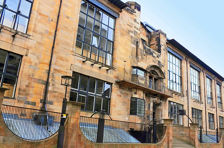 Glasgow School of Art and Mackintosh's Art Academy