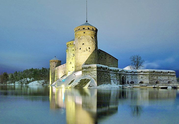 قلعه اولوینلینا، Savonlinna